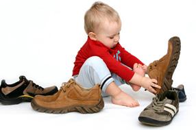 Choisir des chaussures pour bébé