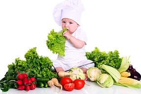 Les enfants végétariens