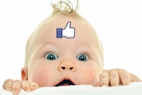 Bébé sur les réseaux sociaux