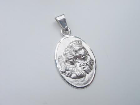 Médaille argent vierge Maris