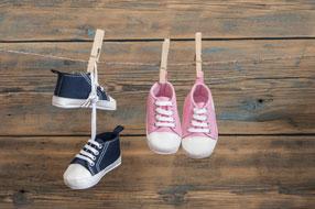 Chaussures tendance bébé